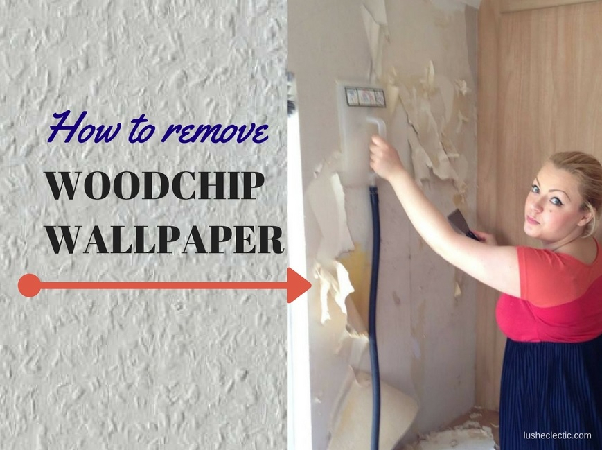what is the best way to remove woodchip wallpaper