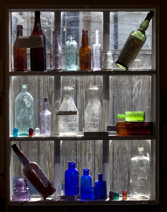 home decor ideas with glass bottles 7 ideas for glass bottles home decor lush eclectic 13248